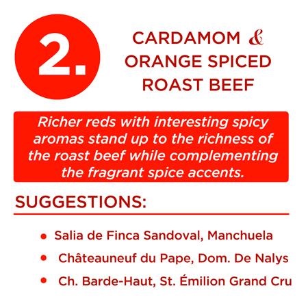 Cardamom & Orange Spiced Roast Beef