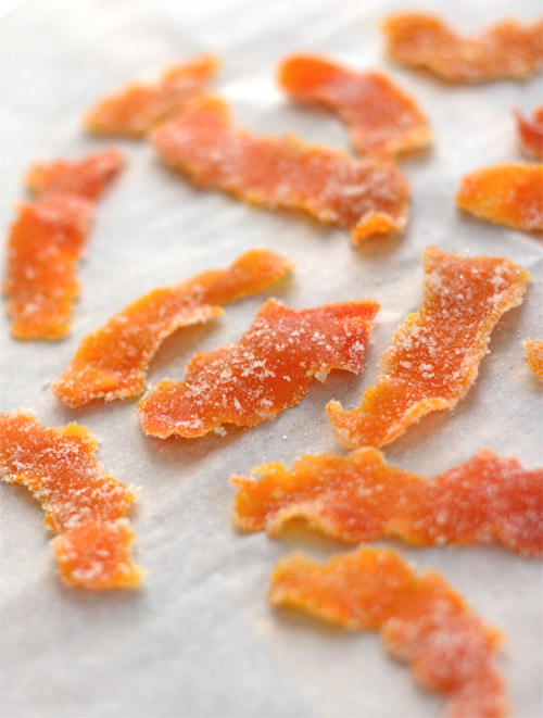 Candied Tangerine Peel