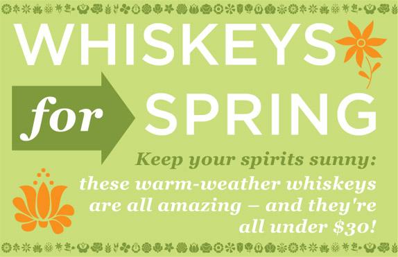 Whiskeys For Spring