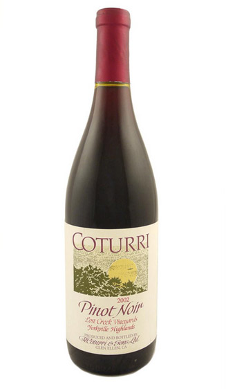 Coturri Pinot Noir, Lost Creek - 2002