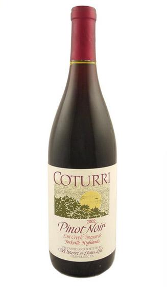 Coturri Pinot Noir, Lost Creek - 2002