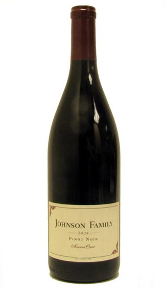 Johnson Family Pinot Noir, Carneros - 2009