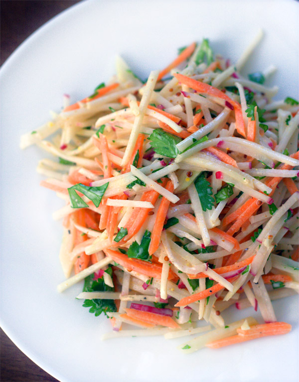 Kohlrabi Carrot Radish Slaw Tasting Notes