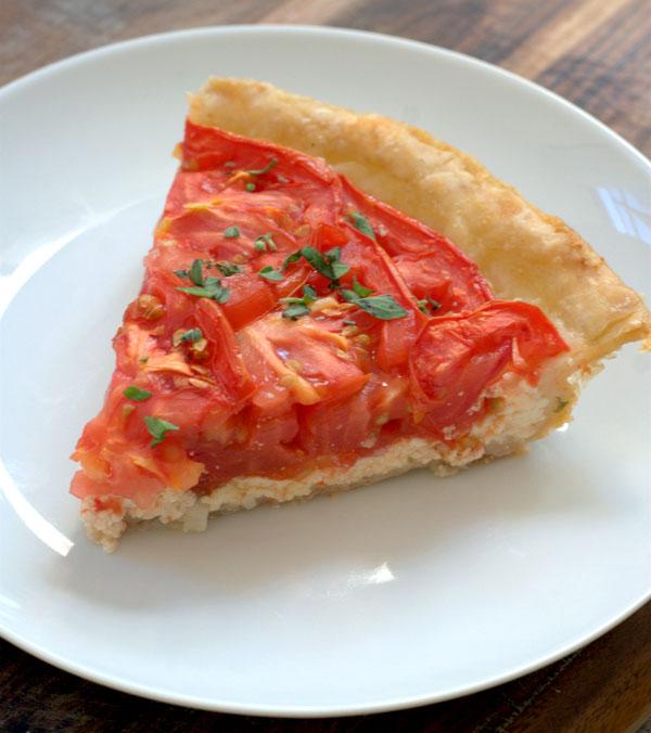 Tomato Pie Recipe — Dishmaps