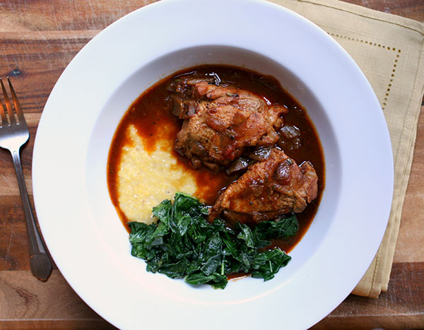 Balsamic Braised Chicken | Tasting Notes